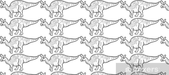 Tapeta na wymiar winylowa Lambeosaurus dinozaur kolorowanka strona - Edukacja