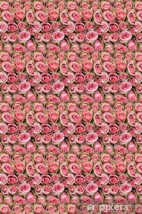 Papier peint vinyle sur mesure Les roses roses dans un arrangement de mariage - Célébrations