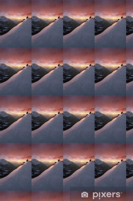 Tapeta na wymiar winylowa Kolorowe słońca - Sporty zimowe