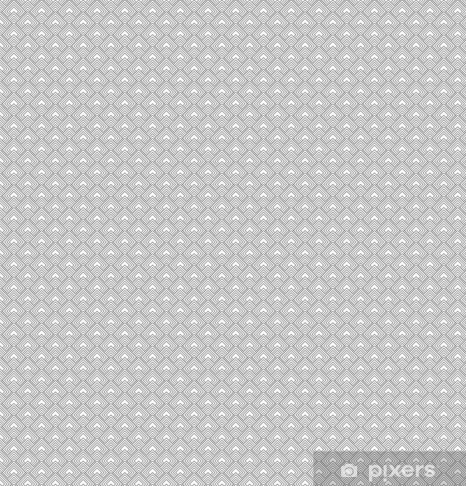 Vinyltapete nach Maß Grau quadratischen Fliesen Muster-Wiederholung Hintergrund -