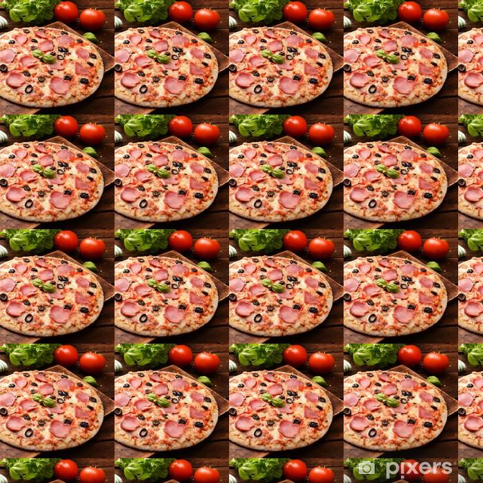Papier peint vinyle sur mesure Pizzas - Thèmes