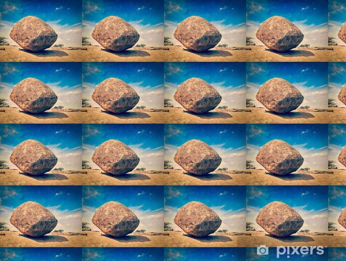 Tapeta na wymiar winylowa Butterball Kryszny - kamień naturalny równoważenia gigant rocka, maha - Azja