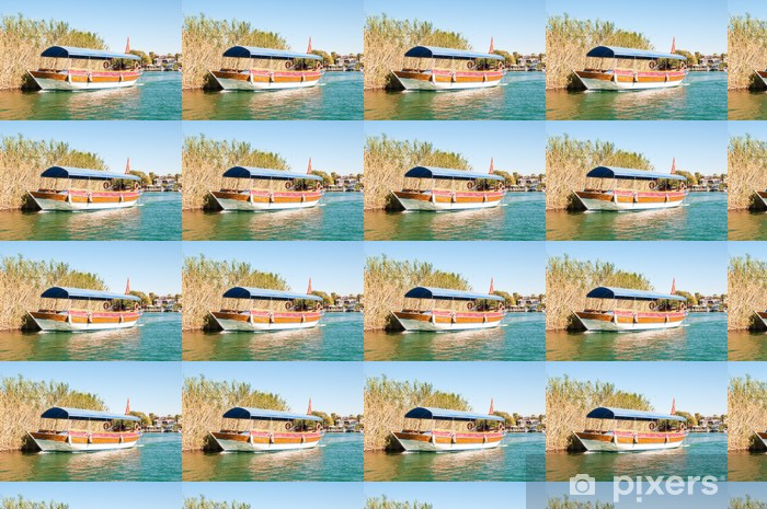Turkey, a boat trip on the river Dalyan Vinyl custom-made wallpaper - The Middle East