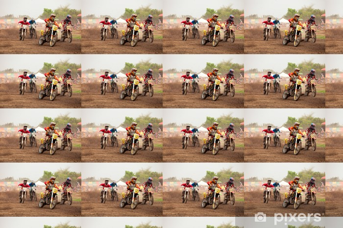 Vinyltapete nach Maß Moto-Cross - Extremsport