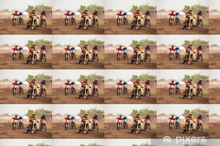 Tapeta na wymiar winylowa Motocross - Sporty ekstremalne