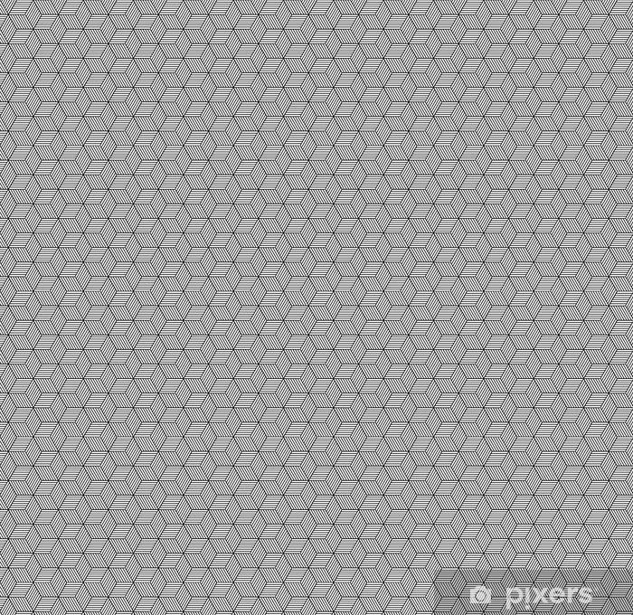 Tapeta na wymiar winylowa Bezproblemowa geometryczny wzór z kostki. - Zasoby graficzne