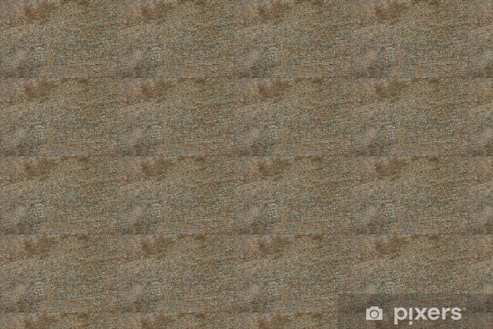 Papier peint vinyle sur mesure Vieux mur de briques dans une image de fond - Industrie lourde