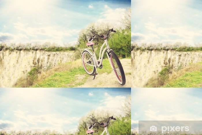 Vinyltapete Fahrrad - Hintergründe