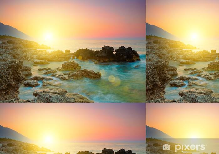 Sea sunset Vinyl Wallpaper - Skies