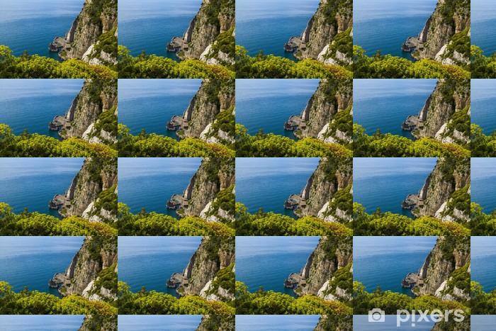 amalfi coast Vinyl custom-made wallpaper - Holidays