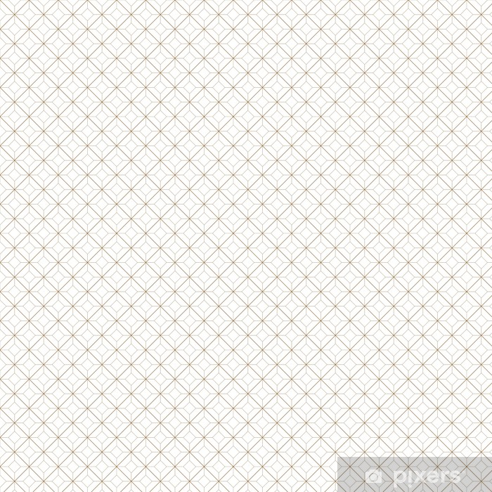 Vinyl behang, op maat gemaakt Geometrisch patroon - Achtergrond