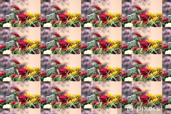 Tapeta na wymiar winylowa Kwiaty - Kwiaty