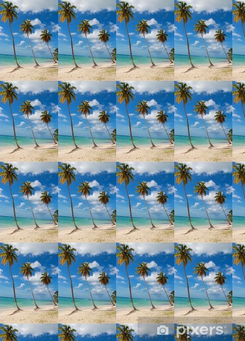 Papier peint vinyle sur mesure Caraibi - Îles