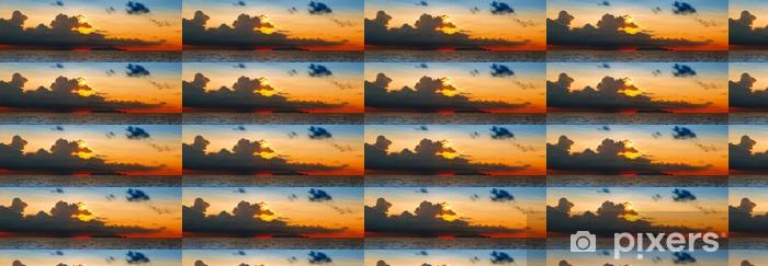 Tapeta na wymiar winylowa Zachód słońca nad morzem. - Afryka