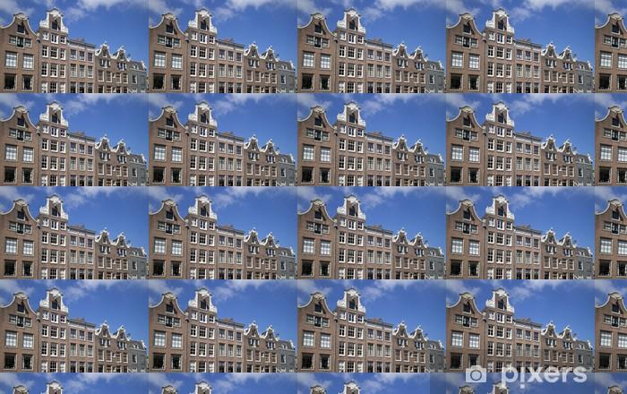 Papier peint vinyle sur mesure Amsterdam architecture - Villes européennes