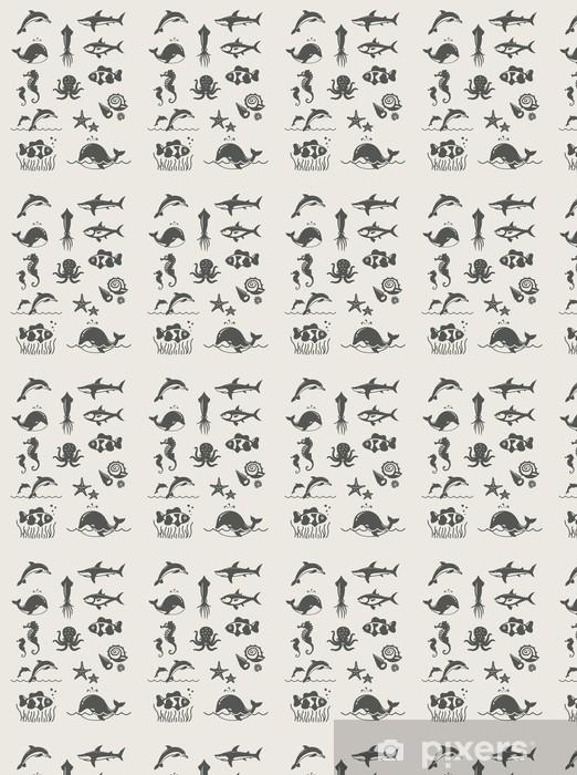 Tapeta na wymiar winylowa Ocean i morze fishes.Set prostych ikon wektorowych Eps8 - Zwierzęta żyjące pod wodą