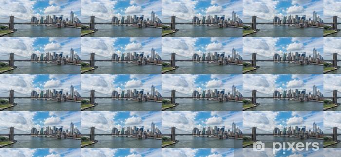 Papier peint vinyle sur mesure New York City Panoramique - New York