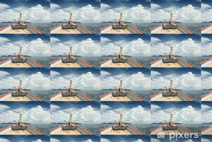 Papier peint vinyle sur mesure Bateau de Voyage Seascape scène - Eau
