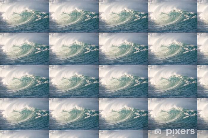 Papier peint vinyle sur mesure Waimea Bay vague - Vacances