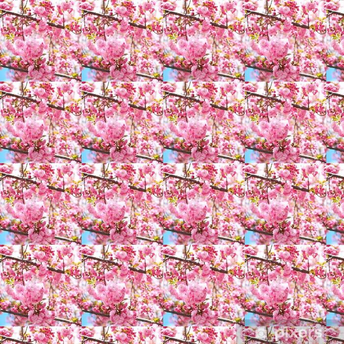 Tapeta na wymiar winylowa Sakura. kwiat wiśni na wiosnę, piękne różowe kwiaty - Tematy