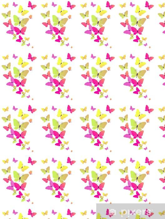 Papier peint vinyle sur mesure Conception papillons - Arrière plans