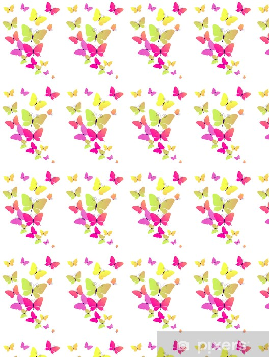 Vinyltapete nach Maß Schmetterlinge Design - Hintergründe