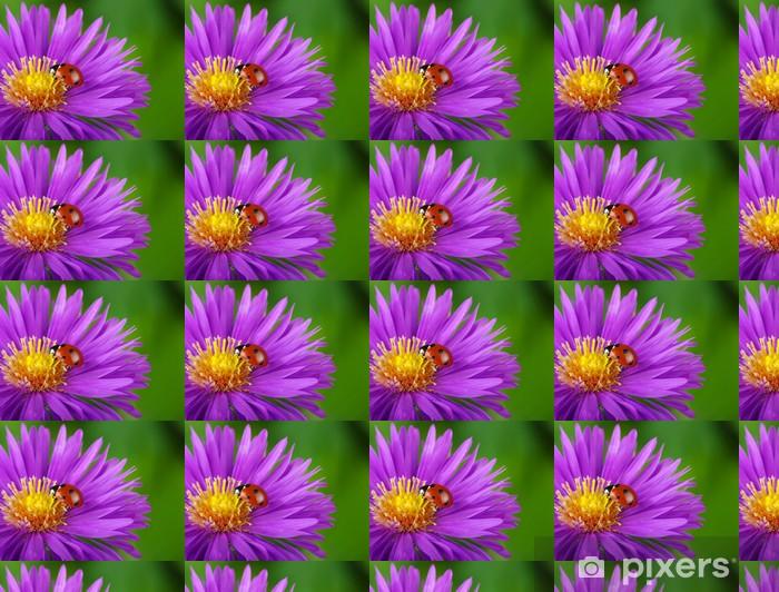 Tapeta na wymiar winylowa Biedronka i kwiatów - Inne Inne