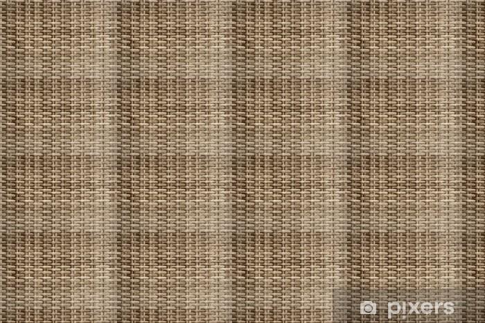 Vinylová tapeta na míru Proutěný tkaný vzor ratan - Struktury