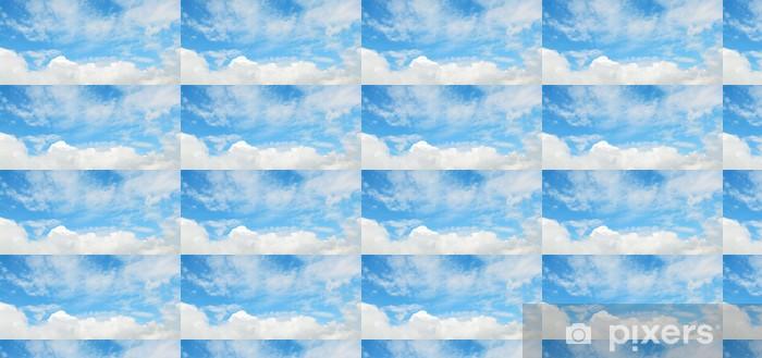 Papier peint vinyle sur mesure Doux nuages dans le ciel - Ciel