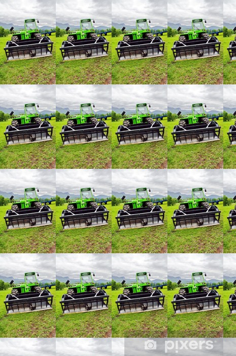 tractor Vinyl custom-made wallpaper - Industrial Tools