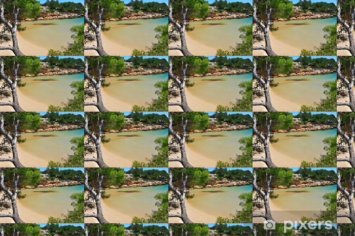 Tapeta na wymiar winylowa CALAFATO Beach Cove w hiszpanii morza migdałów, - Europa