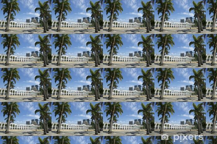 Papier peint vinyle sur mesure Arches blanc à Arches de Lapa Rio de Janeiro, au Brésil Centre - Villes américaines