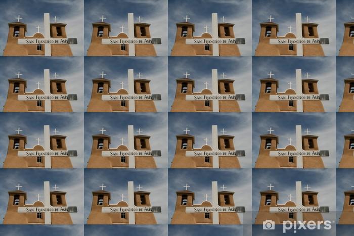 Vinylová tapeta na míru San Francisco de Asis Mission Church v Novém Mexiku - Amerika