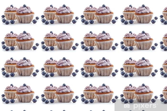 Tapeta na wymiar winylowa Blueberry babeczki - Tematy