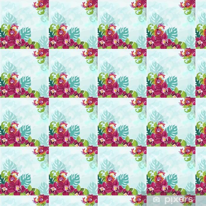 Tapeta na wymiar winylowa Tropical Flower Background - Ekologia