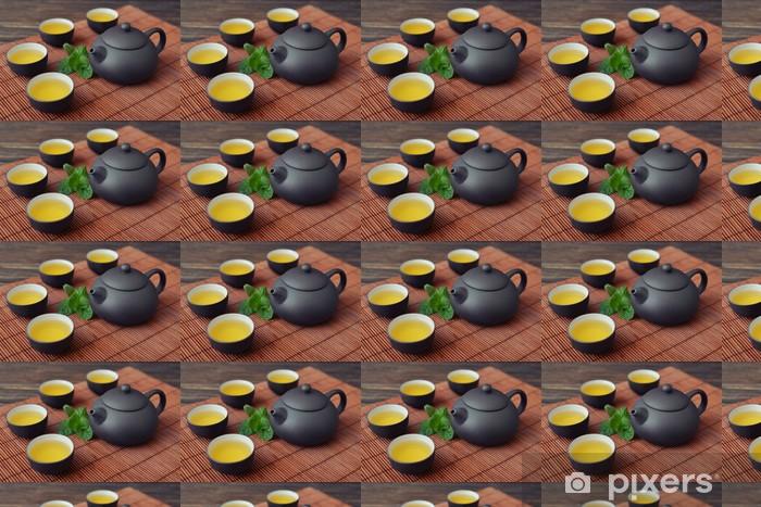 Tapeta na wymiar winylowa Zielona herbata - Gorące napoje