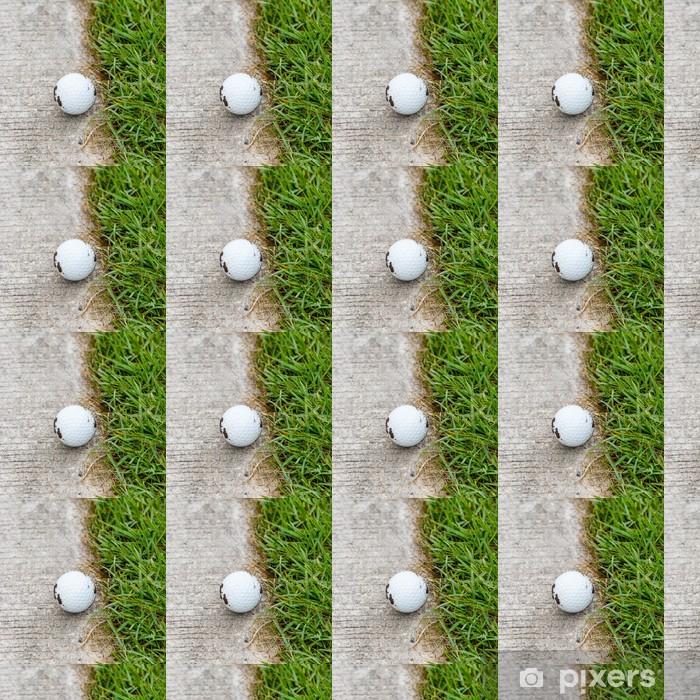 Papier peint vinyle sur mesure Golf ball - Thèmes