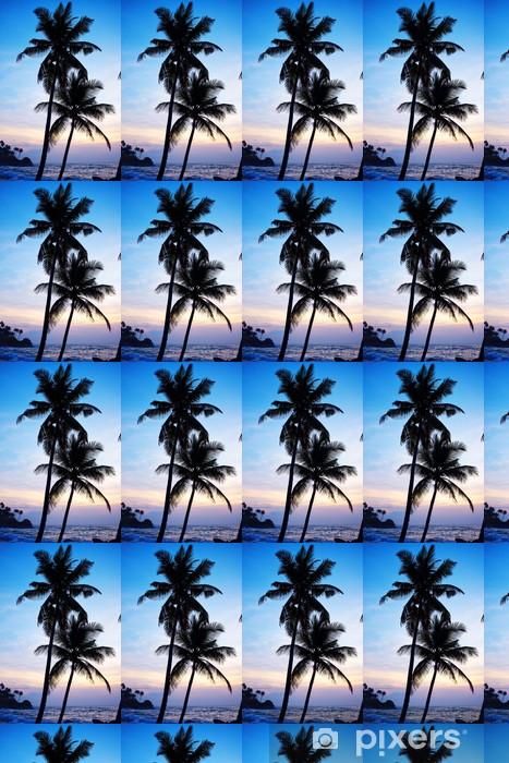 Papier peint vinyle sur mesure Tropical beach - Asie