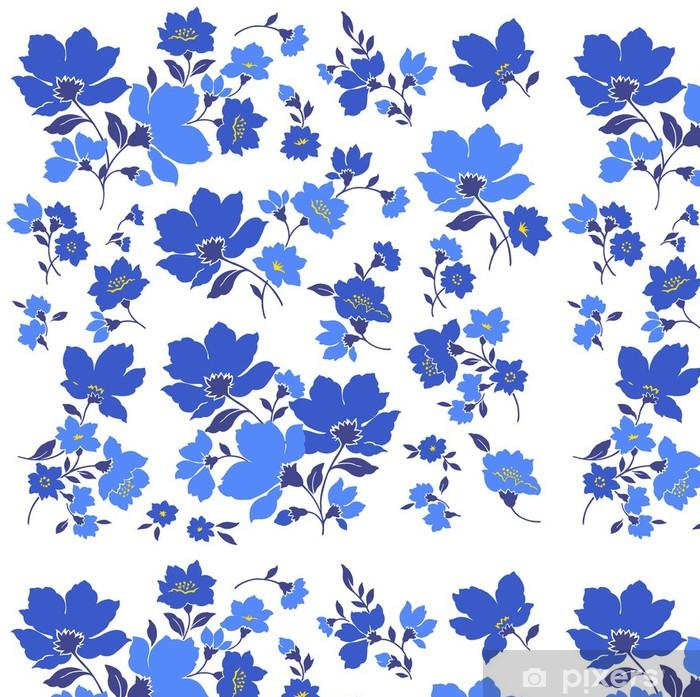 Vinyltapete Blumenclips - Kunst und Gestaltung