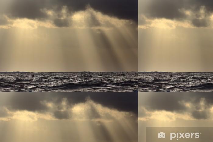 Vinylová Tapeta Sluneční paprsky nad mořem - Témata