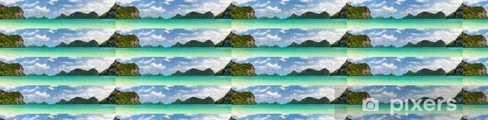 Vinylová tapeta na míru Thajsko panorama. - Témata