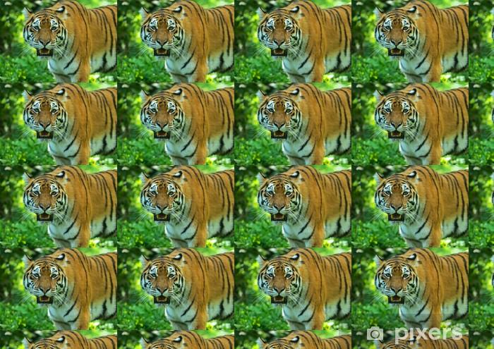 Papier peint vinyle sur mesure Amur Tiger - Thèmes