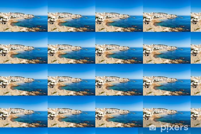 Papier peint vinyle sur mesure Costa Brava - Eau