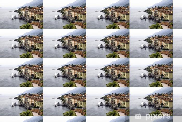 Tapeta na wymiar winylowa Cannero Riviera lotu ptaka color image - Wakacje