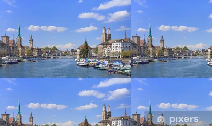 Papier peint à motifs vinyle Zurich, ville - Paysages urbains