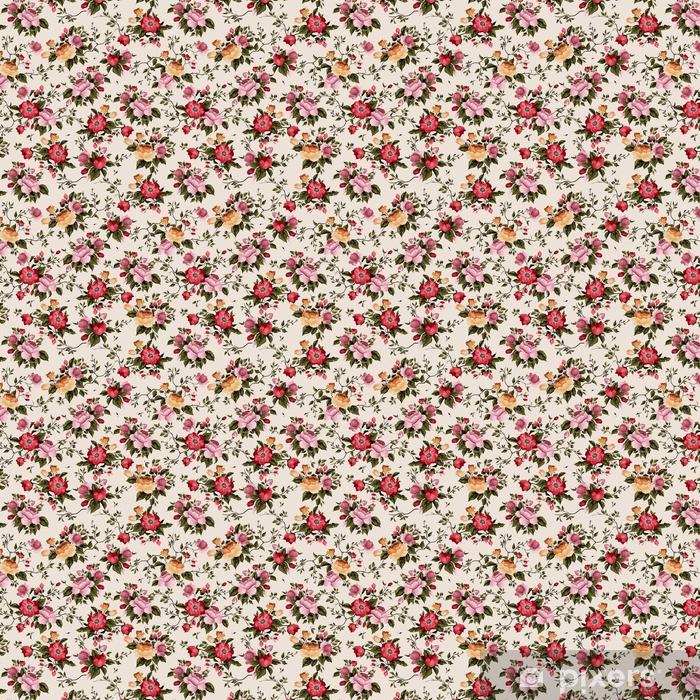 Tapeta na wymiar winylowa Bezszwowe wektor kwiatowy wzór z róż na jasnym tle - Zasoby graficzne