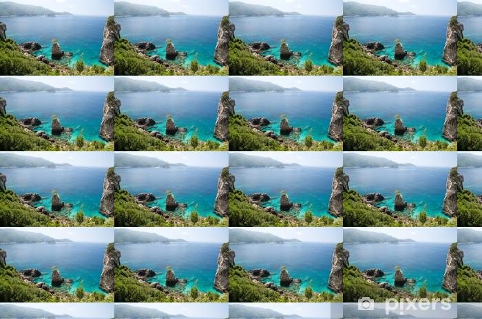 Papier peint vinyle sur mesure La plage de Grotta - Europe