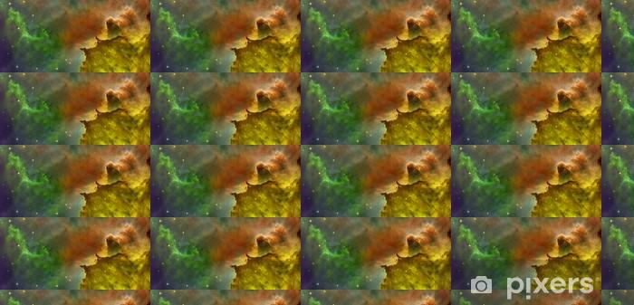 Papier peint vinyle sur mesure Nuages de couleur dans Carina Nebula. - Espace
