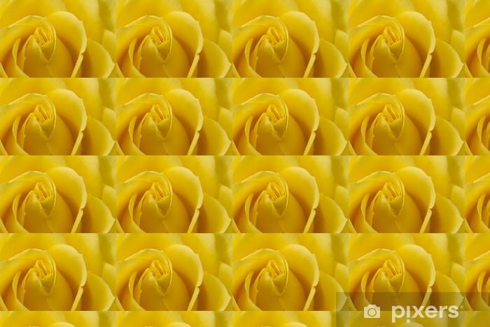 Papier peint vinyle sur mesure Gros plan image de rose jaune - Thèmes