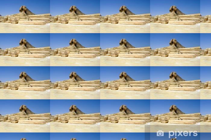 Tapeta na wymiar winylowa Wielki Sfinks w Kairze - Afryka